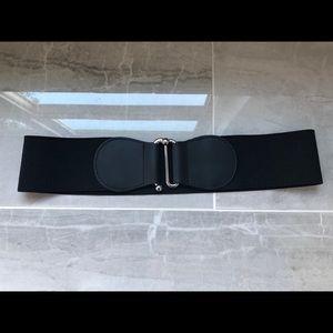 Belt - Black Elastic